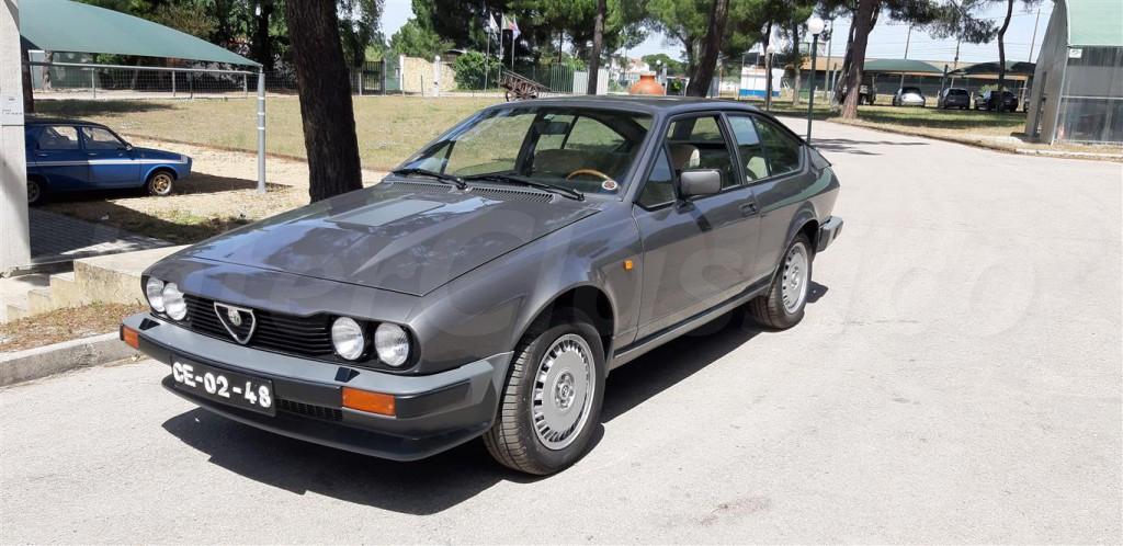 1982年 アルファロメオ アルフェッタ GTV 2.5